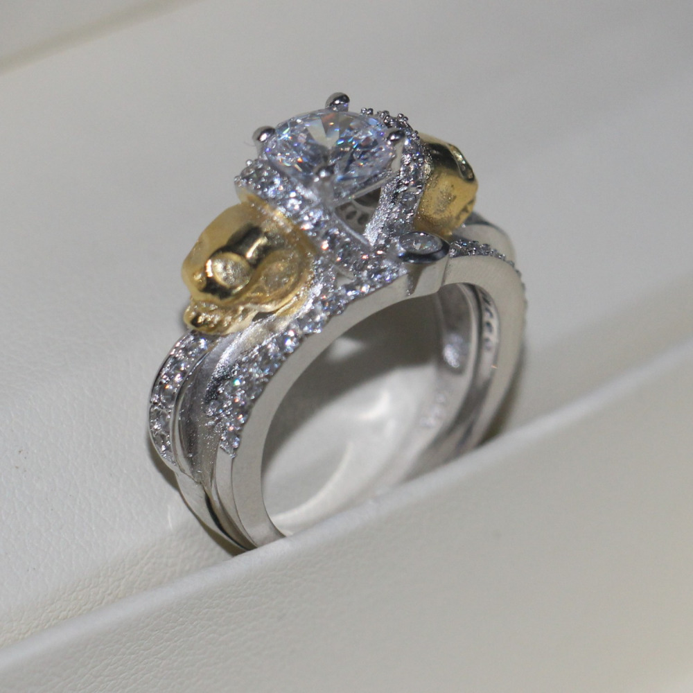 online get cheap gold skull rings for women -aliexpress