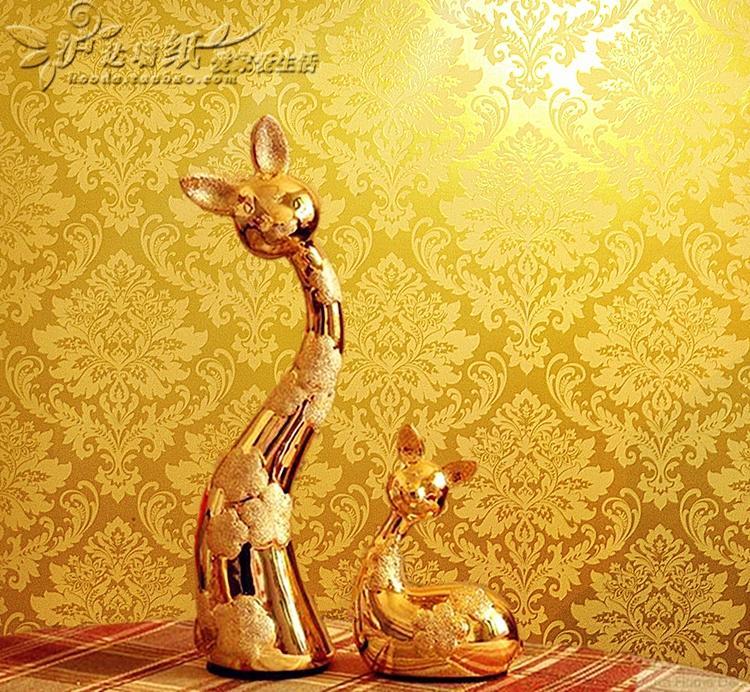 Argent doré papier peint - 4