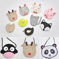 Cartoon animal kids mini bags 2016 Kawaii rabbit/deer/fox/bird coin purses bags cute messenger/crossbody/shoulder bags for baby