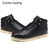 Golden Sapling Men Sport Shoes Winter Men S Sneakers Tactical Boots Winter Sneakers For Men Top