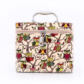 2017 Women Large Capacity Portable Cosmetic Bag New Arrival Korean Makeup Bag PU Cartoon Owl Travel bag organizer Free Shipping