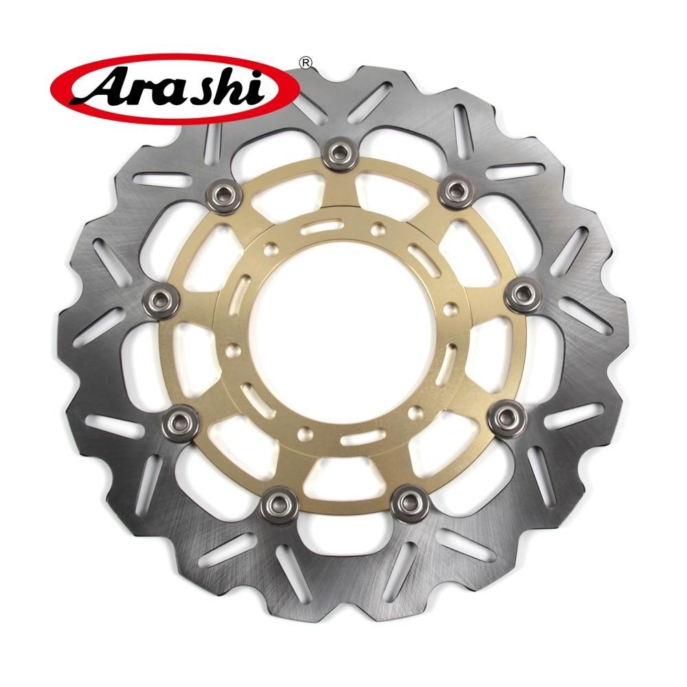 ARASHI For SUZUKI GSX R 600 750 2008-2014 CNC Front Brake Rotors Brake Disc 2008 2009 2010 2011 2012 2013 2014 GSXR600 GSXR750