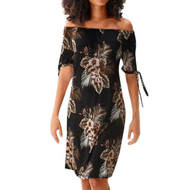 Summer Dress Women Halter...