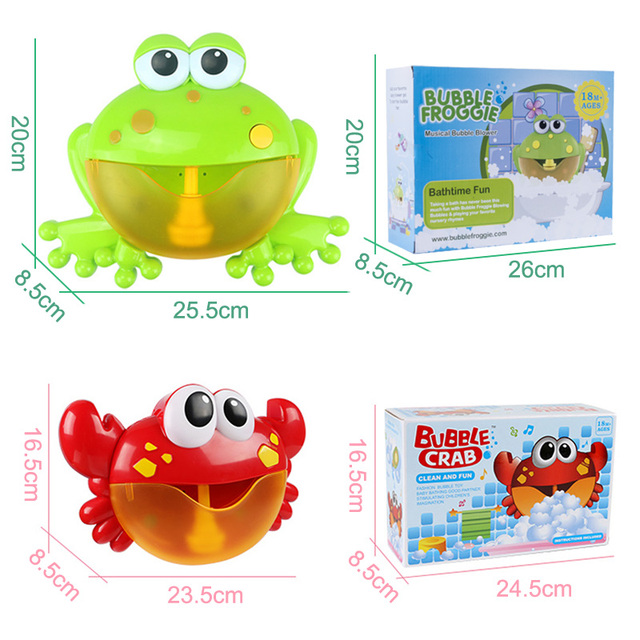Automatic Bubble Maker Machine – Musical Bath Toy for Children