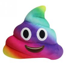 Cute Poop Emoji Smiley toy Cushion Pillow Kawaii Stuffed Plush Toy Doll Poop Face Smiley Home Sofa Office Decor Gift Children цена