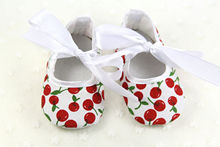 2019 New sweet Newborn Baby Girls Bowknot printed Shoes Soft Sole Anti-slip Prewalker Baby kid Casual Shoes lovely lace up shoes