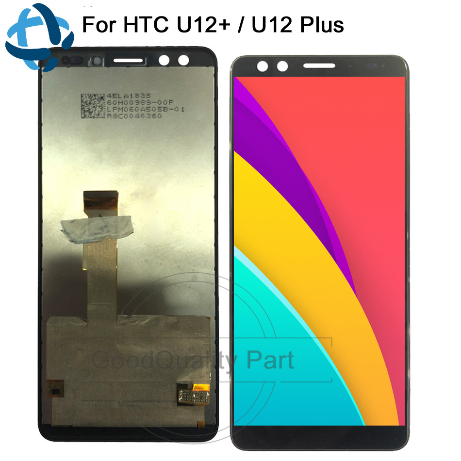 New 6 0 For HTC U12 Plus LCD Display with Touch Digitizer Screen Assembly For HTC
