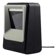 Filaire Mains-livraison 1D 2D USB CCD Barcode Reader Scanner Pour Le Paiement Mobile Ordinateur Écran Scan, noir