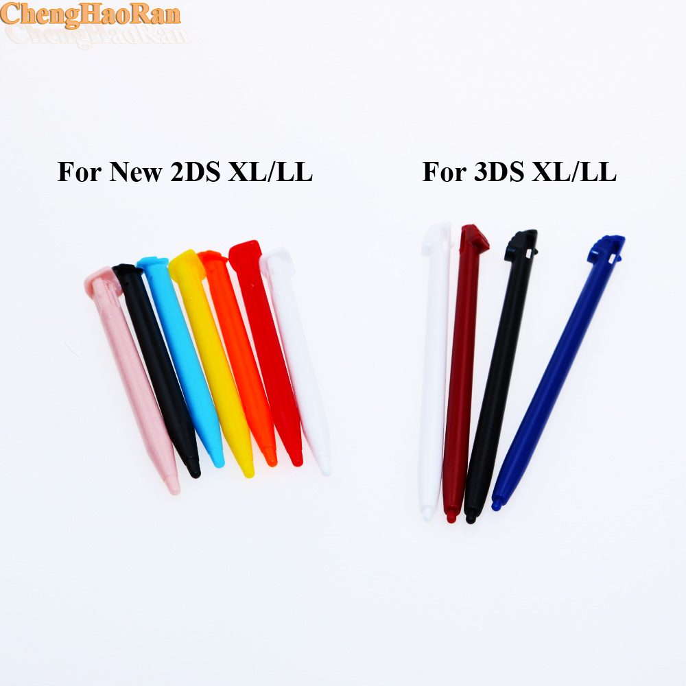 ChengHaoRan 10pcs For New 2DS XL LL Touch pen Stylus for 3DS XL LL Video Game Accessories Repair parts Replacement