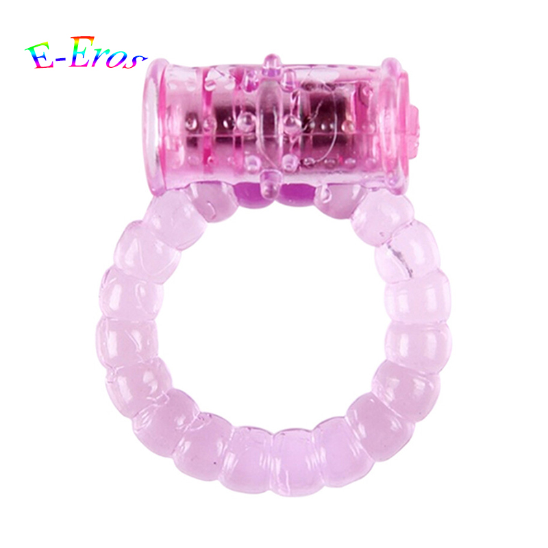 Buy ORISSI Cheap Stretchy & Reusable Clit Vibrating Cock Ring, Great Sex Toy Male, Adult Sex Products Penis Ring Vibrator