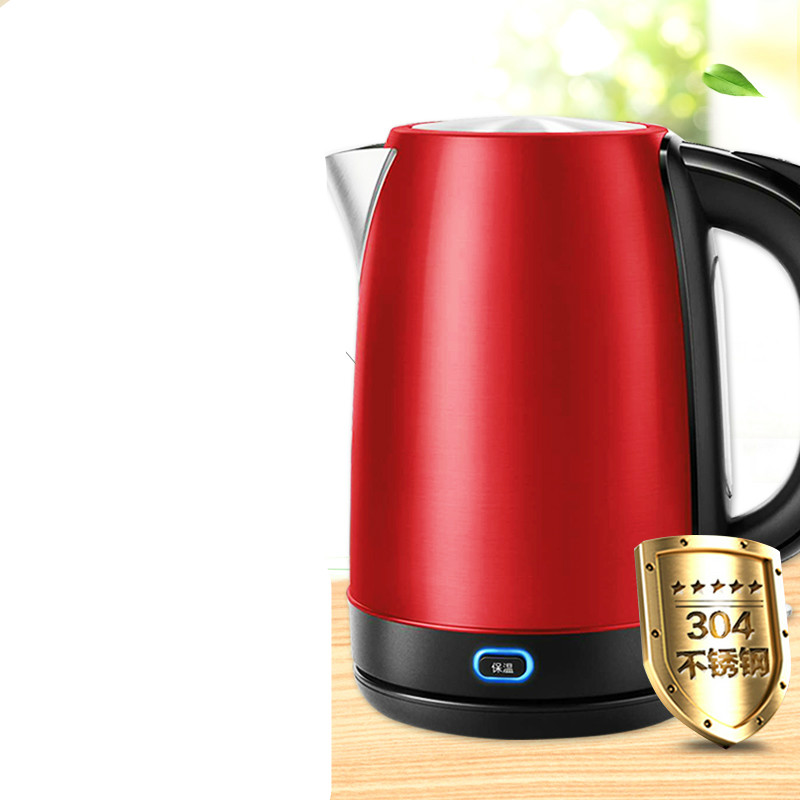 Heat kettle  1.7 litre  hot water kettles stainless steel Safety Auto-Off FunctionHeat kettle  1.7 litre  hot water kettles stainless steel Safety Auto-Off Function