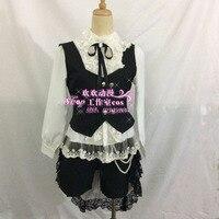 Anime Kuroshitsuji Black Butler Ciel Phantomhive Cosplay Costume Dress