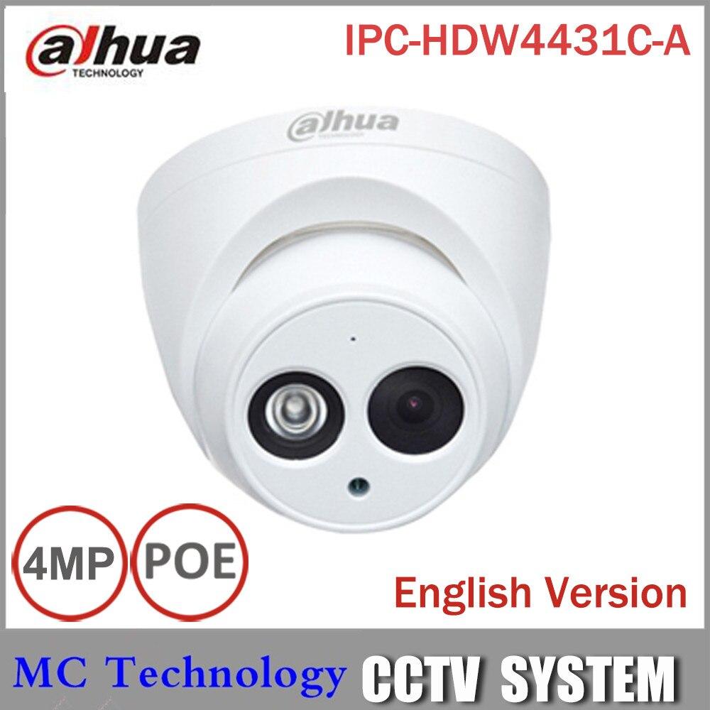 bilder für DaHua IPC-HDW4431C-A POE Netzwerk IR Mini Dome Ip-kamera Mit Eingebautem Mikro Full HD 1080 P 4MP Cctv-kamera