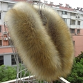 2016 vigoreux faux fox fur raccoon fur collar fur of son collar muffler scarf cape