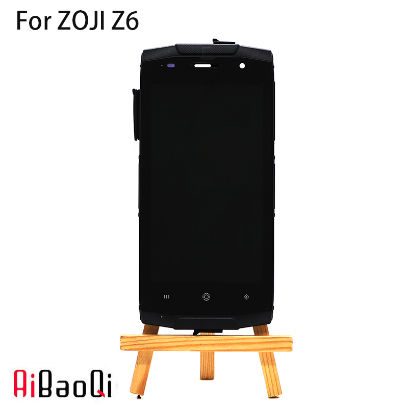 New Original 4 7 inch Touch Screen 1280X720 LCD Display Frame Assembly Replacement For Homtom ZOJI