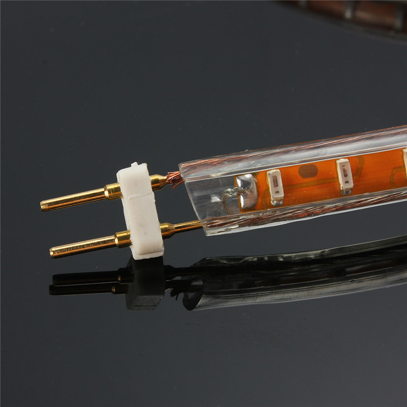Mising EU Plug for AC 220v LED Strip Lights 2pin of 3528 3014 SMD