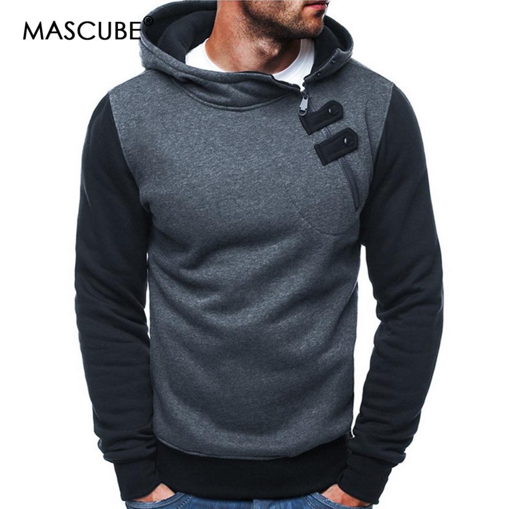 Mascube Männer Sets Streetwear Männer Hoodies Mode Patchwork Hoodie Männlichen Hip-hop-mantel Pullover Männer Casual Trainingsanzüge Masculino üBereinstimmung In Farbe Herrenbekleidung & Zubehör