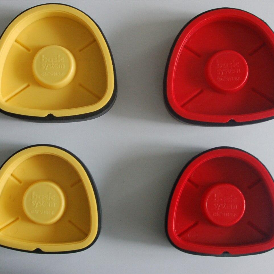 2 Pcs Big & Small Dental Denture Base Model Magnetic Base Case For Model Work Dental Equipment Mechanic