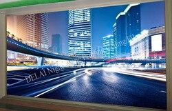 3D-0522 nacht szene fantastische licht stretch decke film geeignet für wandbild dekoration