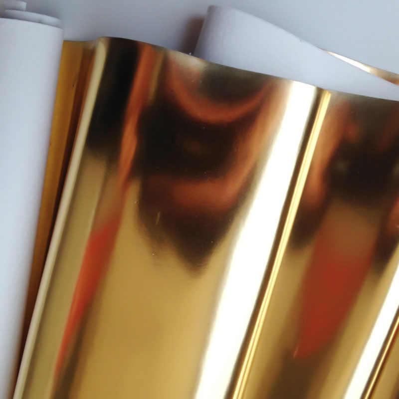 Espelho brilhante brilhante tecido de couro do plutônio folhas espelhadas electroplate laser tecido diy saco de costura artesanato material