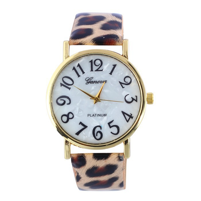 Leopard Leather quartz watch women fashion Casual bracelet wrist watch Ladies hour clock wristwatch relogio feminino Feminino rigardu fashion female wrist watch lovers gift silicone band creative wristwatch women ladies quartz watch relogio feminino 25