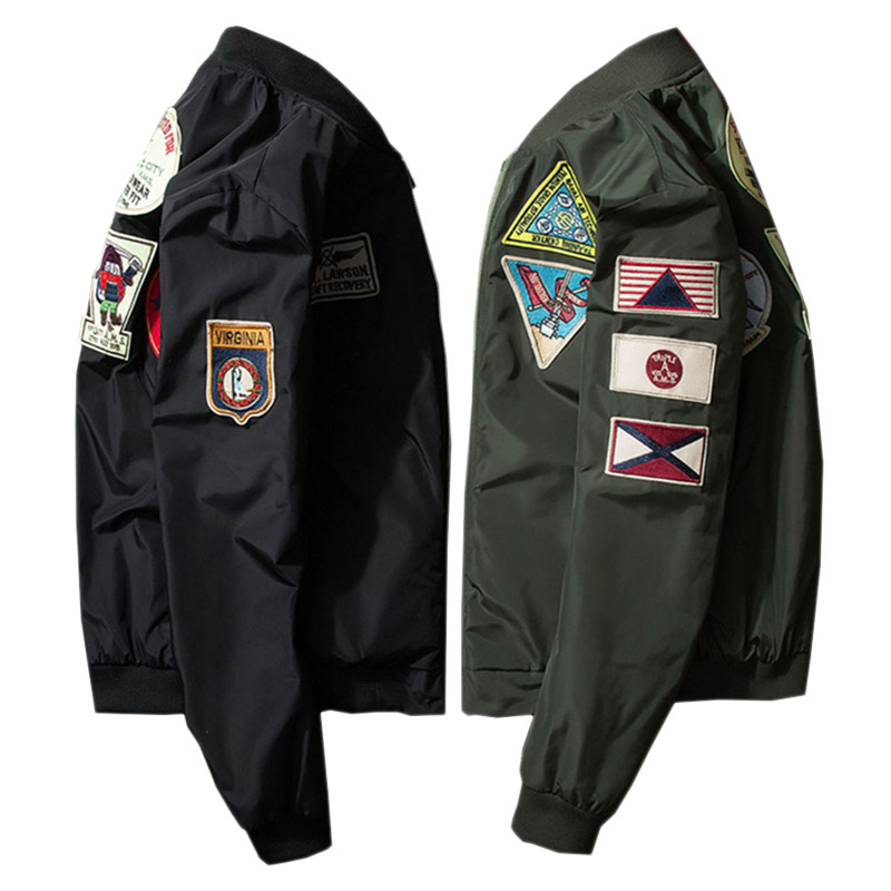 Online Buy Wholesale ma1 flight jackets from China ma1 flight ...