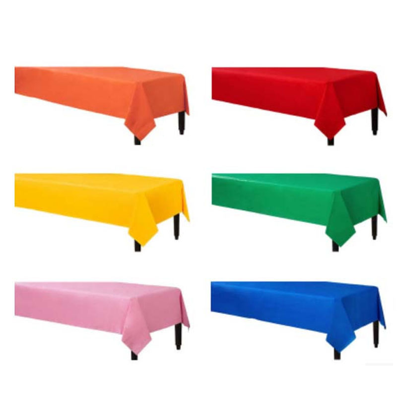 Table Cover Solid Color Tablecloth Birthday Party Supplies Wedding  Decoration 137 * 183cm Disposable Tablecloths Christmas In Tablecloths From  Home U0026 Garden ...