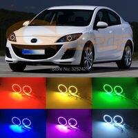 For Mazda 3 Mazda3 BL 2008 2009 2010 2011 2012 2013 Excellent Angel Eyes Multi Color