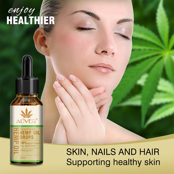 Essential Oils Organic Hemp Seed Oil Herbal Drops Body