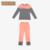 Qianxiu Marca manga Larga Pijama Modal Amantes de Pareja Estilo Salón de la ropa