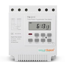 Three Phases 380V 415V TIMER Programmable Switch, Time Relay