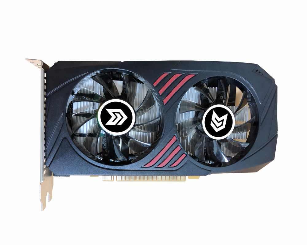 بطاقة جرافيكس PCI-E GTX1050TI 4 جيجابايت/4096 ميجابايت DDR5 128Bit بلاكا دي فيديو كارت graphique الفيديو بطاقة ل Nvidia GTX