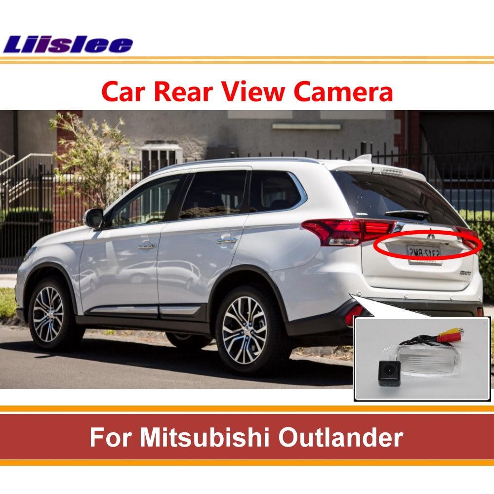 Liislee For Mitsubishi Outlander 2018 kamera cofania kamera cofania lampka tablicy rejestracyjnej Night Vision AUTO CAM
