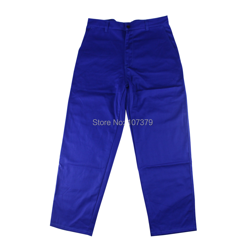 Fire fox 100% FR cotton blue jeans work trousers sweat absorbing breathable Flame Resistant welding clothing