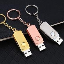 HOT USB 2 0 Flash Drive 32GB 64GB 128GB Pen Drive 16GB 8GB Keychain Memory Stick