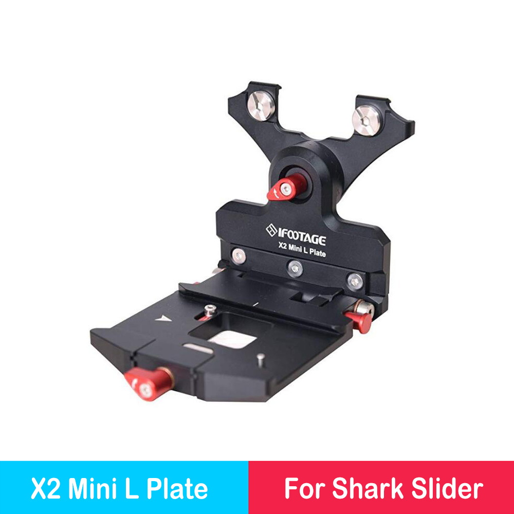 IFootage Mini Shark Slider L Plate Accessory for The X2 Mini Motion Control Head