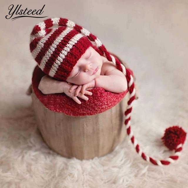 baby stricken lange schw nze weihnachten hut neugeborenen. Black Bedroom Furniture Sets. Home Design Ideas