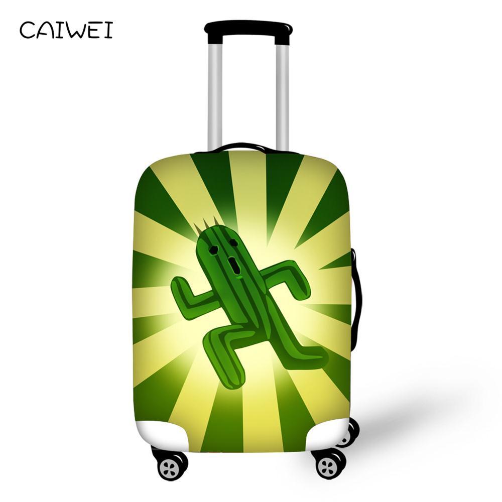 Водонепроницаемый эластичные Чемодан крышка мультфильм тележка чемодан подросток студент малыш защиты пыли сумка для путешествий аксессу...