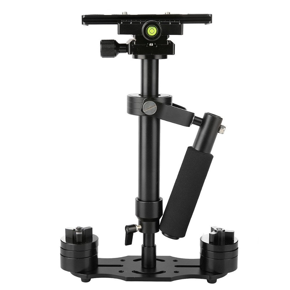 DHL S40 40cm/15.7in Professional Handheld Stabilizer Steadicam for Camcorder Digital Camera Video Canon Nikon Sony DSLR