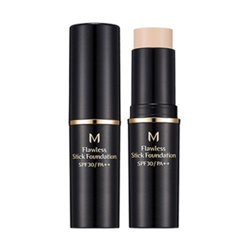 MISSHA M Flawless Stick Foundation Black (SPF30/PA++) 12g Concealer Stick Face Primer Base Sticker Foundation Korea Makeup missha m super extreme powerproof eyeliner black