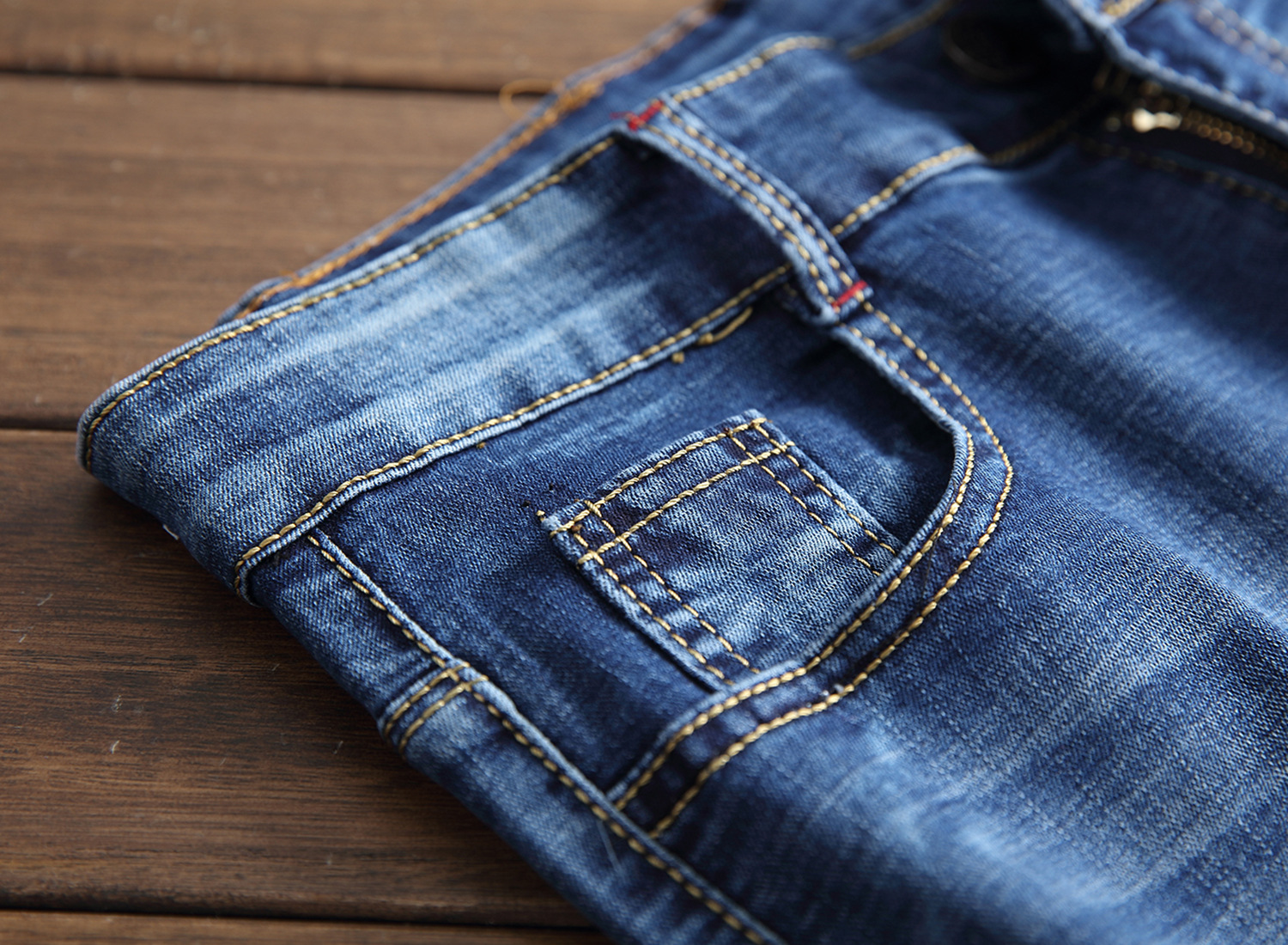 bull-puncher knickers male thin pants in the summer embroidery straight five points of cultivate morality men jeans