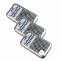 3 pcs Degen Radio DE333 FM AM Receiver Mini Handle Portable Two Band FM Radio Recorder A0796A