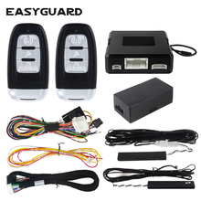 Car-Alarm-System Engine-Start Push-Button-Start Entry-Remote Universal EASYGUARD Passive Keyless
