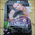 fast hair black of natura fruit oil  hair shampoo 30ml*10 with  black Hair dye  S088 hair color