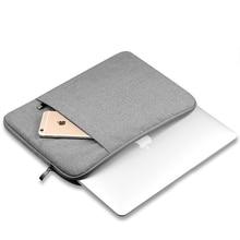 Нейлон Laptop Sleeve Тетрадь сумка чехол для Macbook Air 11 13 12 15 Pro 13,3 15,4 retina унисекс вкладыш рукав для Xiaomi Air