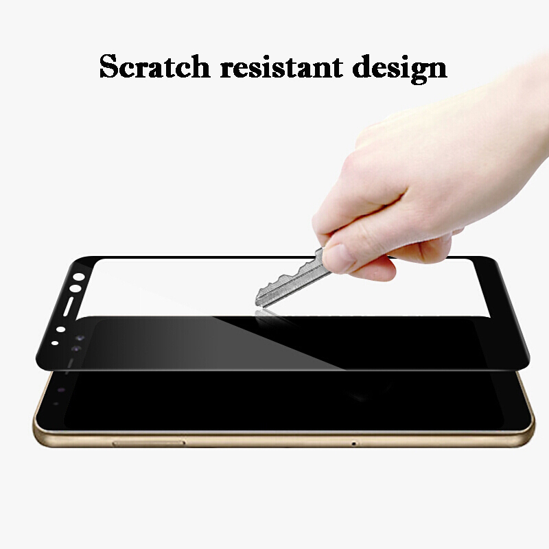 Nicotd New 9D For Samsung A8 A7 A9 J8 2018 Tempered Glass For Samsung Galaxy A6 Plus J6 A7 A9 J2 Pro 2018 Screen Protector Film (1)