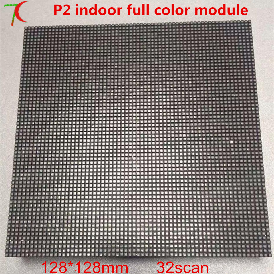128*128mm P2 Indoor 32scan Ultra HD Full Color Module,4K