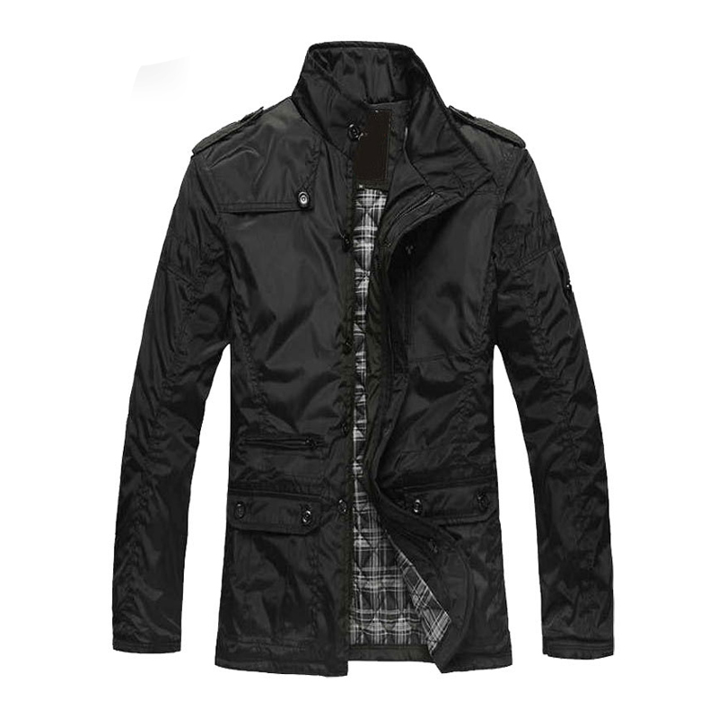 Winter Coat Men Casual Cotton Padded Coat Warm Outwear Jacket Parka Male Overcoat Stand Collar Fashion Outerwear Plus Size M-5XL