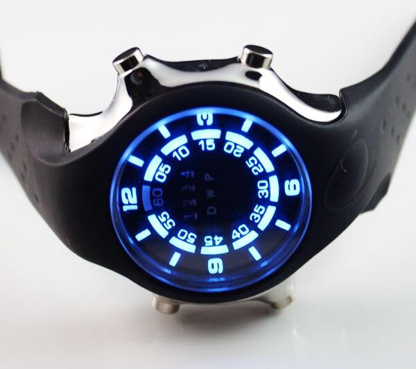 TVG новые модные силиконовые синие бинарные светодиодный часы мужские спортивные цифровые часы для дайвинга Бесплатная доставка C677|freeshipping|   | АлиЭкспресс