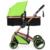 Frete grátis Rússia Luxo carrinho de bebê recém-nascido De Alta vista pode bebek arabasi sentar deitar carrinhos de bebê crianças bebê transporte